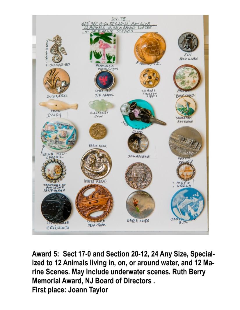 SPRING '18, Award 5, Div IX, Marine animals and scenes