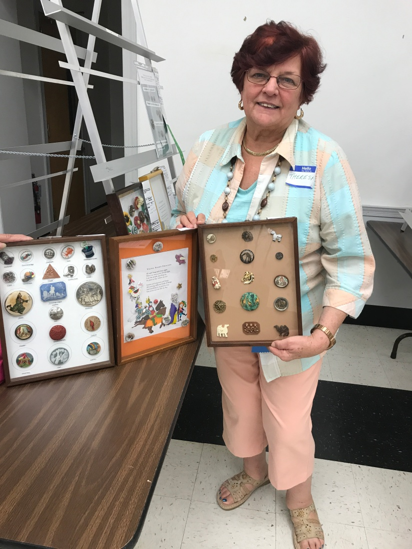 Theresa Heulitt with her winning trays